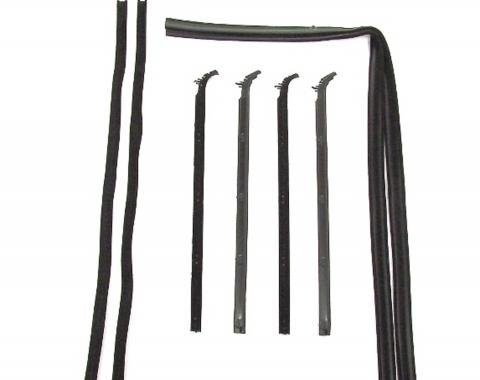 Precision Beltline Molding and Glass Run Channel Kit, Left and Right Hand, 8 Piece Kit WFK 3111 80