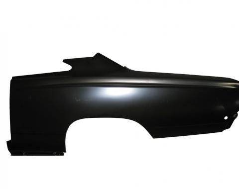 Mopar B-Body Full Quarter Panel Skin LH, 1968