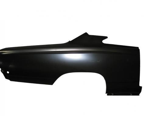 Mopar B-Body Full Quarter Panel Skin RH, 1968