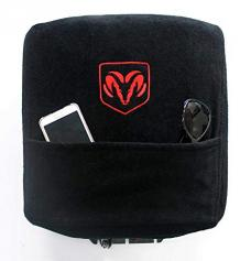 Seat Armour Dodge Ram 2002-2018, Jump Seats Only,  Konsole Cover™ with Pocket, Black, KADRAMBJS02-18