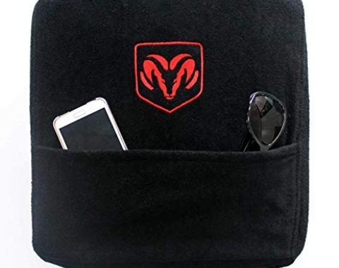 Seat Armour Dodge Ram 2004-2018,  Konsole Cover™ with Pocket, Black, KADRAMB04-18