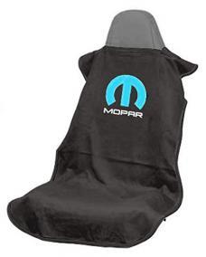 Seat Armour Mopar, Seat Towel, Black with Logo SA100MOPB