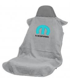 Seat Armour Mopar, Seat Towel, Grey with Logo SA100MOPG