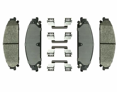 Right Stuff 08 - 11 Chrysler/Dodge - 300/Caliber SRT 4/ Magnum R/T Police/Charger R/T Police; Front Brake Pads DP1058