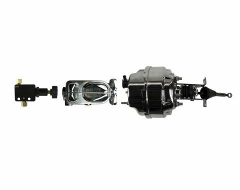 """Right Stuff Upper Assembly with Chrome Booster, 15/16"""" Bore, Valve and Brackets J80011501"""