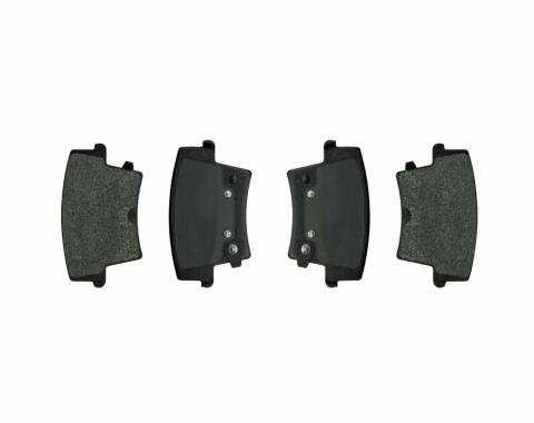 Right Stuff 09 - 11 Dodge Charger HD Brakes/Charger R/T Police; Rear Brake Pads DP1057