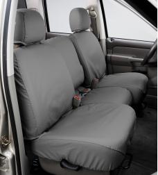 Covercraft 2011-2020 Dodge Grand Caravan SeatSaver Custom Seat Cover, Polycotton Grey SS8514PCGY