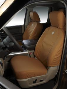 Covercraft 2019-2020 Dodge Durango Carhartt SeatSaver Custom Seat Cover, Brown SSC7525CABN
