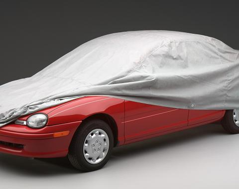 Covercraft Wolf Ready-Fit Car Cover, Multibond Gray C40003WC