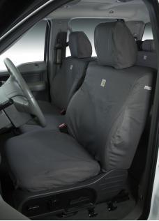 Covercraft 2019-2020 Dodge Durango Carhartt SeatSaver Custom Seat Cover, Gravel SSC7525CAGY