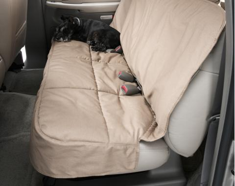Covercraft Canine Covers Semi-Custom Rear Seat Protector, Polycotton Taupe DSC3032TP
