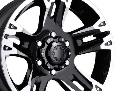 "20"" Fits Dodge - Ultra Maverick Wheel - Black 20x9"