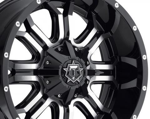 "20"" Fits Dodge - TIS Offroad 535MB Wheel - Gloss Black 20x9"