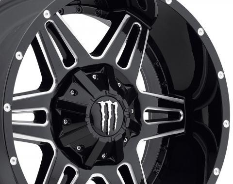 """20"""" Fits Dodge - Monster Energy Limited Edition 538BM Monster Wheel - Gloss Black 20x9"""