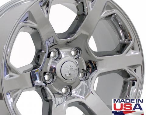 "20"" Fits Dodge - 1500 Wheel - PVD Chrome 20x9"