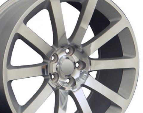 "22"" Fits Chrysler - 300 SRT Wheel - Silver 22x9"