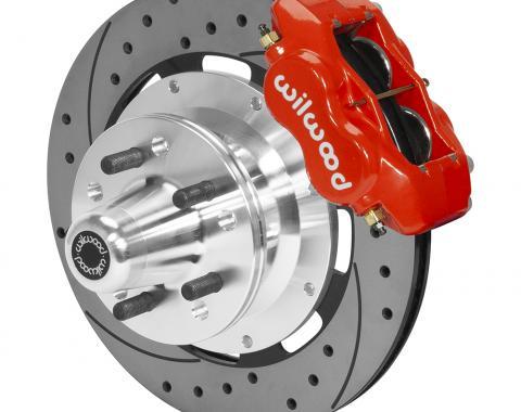 Wilwood Brakes Forged Dynalite Big Brake Front Brake Kit (Hub) 140-15468-DR