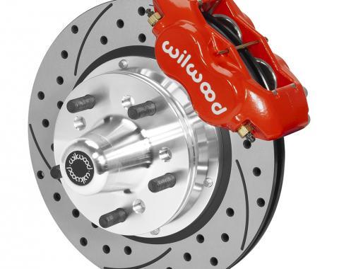 Wilwood Brakes Forged Dynalite Pro Series Front Brake Kit 140-15459-DR