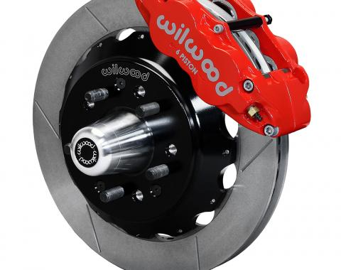 Wilwood Brakes Forged Narrow Superlite 6R Big Brake Front Brake Kit (Hub) 140-15199-R