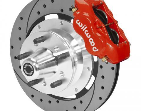 Wilwood Brakes Forged Dynalite Big Brake Front Brake Kit (Hub) 140-15461-DR