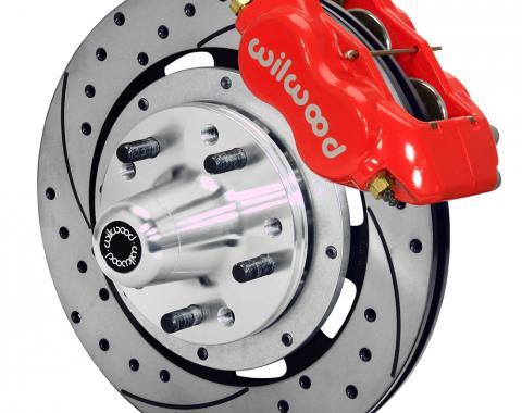 Wilwood Brakes Forged Dynalite Big Brake Front Brake Kit (Hub) 140-15197-DR