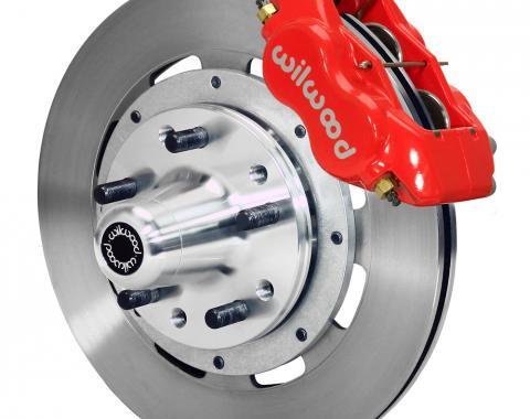 Wilwood Brakes Forged Dynalite Big Brake Front Brake Kit (Hub) 140-15197-R