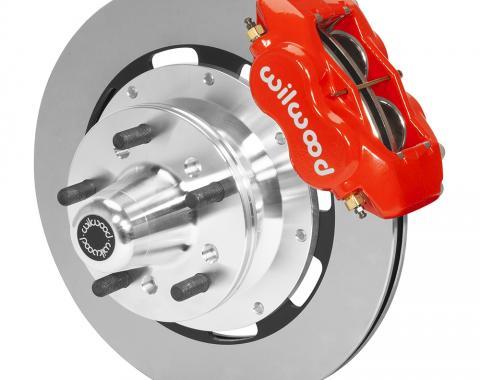 Wilwood Brakes Forged Dynalite Big Brake Front Brake Kit (Hub) 140-15461-R