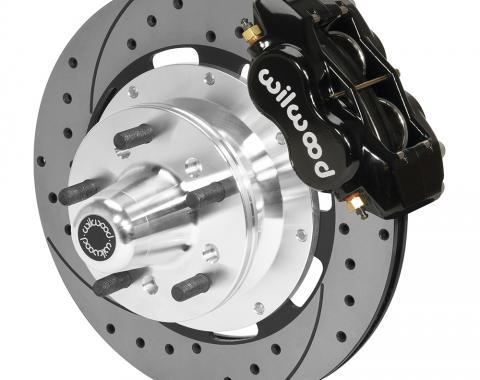 Wilwood Brakes Forged Dynalite Big Brake Front Brake Kit (Hub) 140-15461-D
