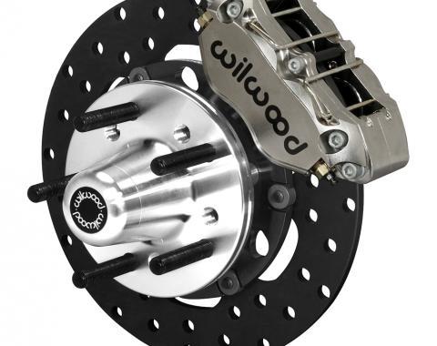 Wilwood Brakes Dynapro Lug Mount Front Dynamic Drag Brake Kit 140-14422-DN