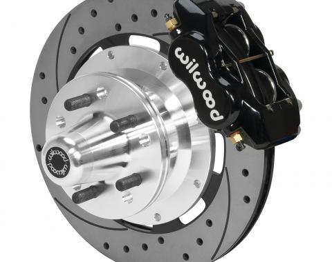 Wilwood Brakes Forged Dynalite Big Brake Front Brake Kit (Hub) 140-15468-D