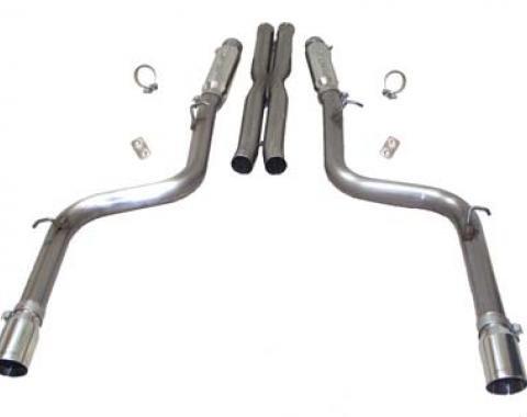 Mopar SLP Loudmouth Exhaust System, 2005-2014