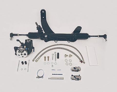 Mopar Rack & Pinion Steering Unit, Big Block, Unisteer, 1968-1972