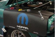 Fender Gripper® Cover, Black with Modern Mopar Logo
