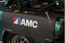 Fender Gripper® Cover, Black with AMC Logo