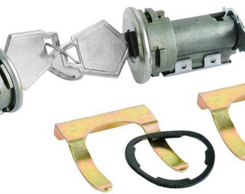 Challenger Door Locks, Original without Illumination, 1970-1974
