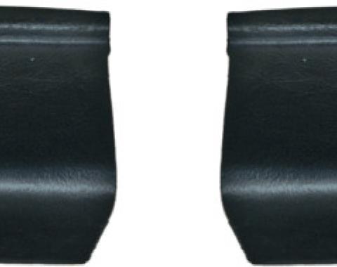 Dashtop 1970 Dodge Coronet Replacement Interior Rear Tail Light Covers Satin Black 960-15243