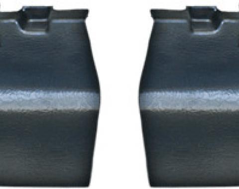 Dashtop Interior Rear Tail Light Covers Satin Black 961-15243
