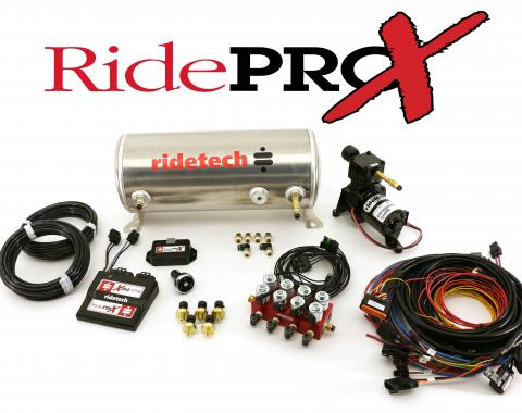 Ridetech RidePRO-X 3 Gal Leveling and Compressor System 30434000