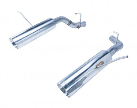 Pypes Pype Bomb Series Axle Back Exhaust System 11-20 Durango Split Rear Dual Exit Incl Axle back Pipe 4.5 in Polished Tips Hardware Polished Finish 304 Stainless Steel Exhaust SDD19MS