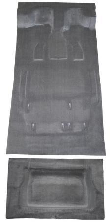 ACC 2005-2007 Dodge Grand Caravan Stow & Go Seats Model Complete Cutpile Carpet