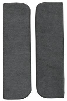 ACC  Dodge D100 Door Panel Inserts with Cardboard 2pc Cutpile Carpet, 1975-1979