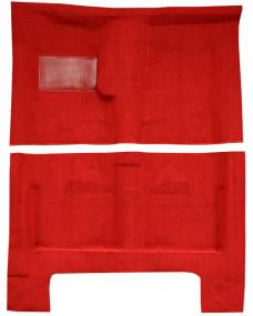 ACC  Dodge Charger 4spd without Console Strips Pass Area Loop Carpet, 1966-1967