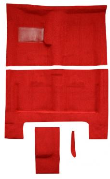 ACC  Dodge Charger 4spd with Console Strips Pass Area Loop Carpet, 1966-1967