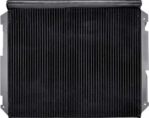 OER 1966-69 Mopar B-Body Replacement 4 Row Copper Radiator - 426 Hemi Manual Transmission MP61001S