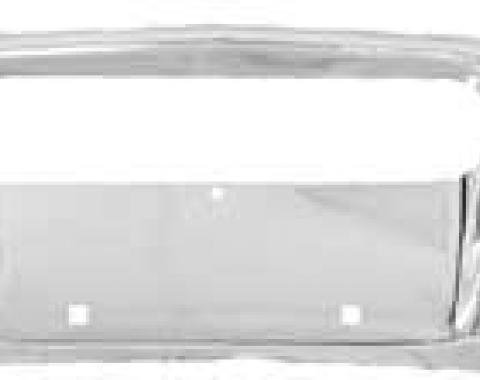 Plymouth B-Body Chrome Front Bumper, 1968-1969