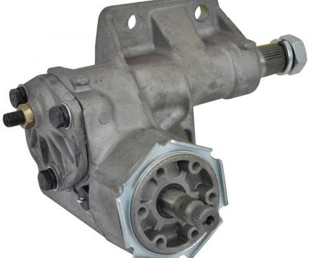 OER 1965-76 Dodge/Plymouth, A/B/E-Body, Manual Steering Gear Box, Aluminum, 24:1 Ratio MN72010