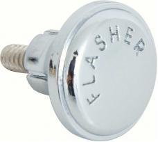 OER 1967-70 Chrome Hazard Switch Knob 398165
