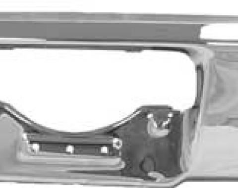 Plymouth B-Body Chrome Rear Bumper, 1969