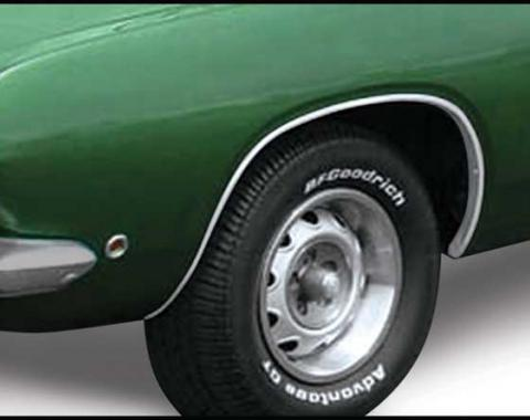 OER 1967-69 Plymouth Barracuda Wheel Opening Molding Set MN1477