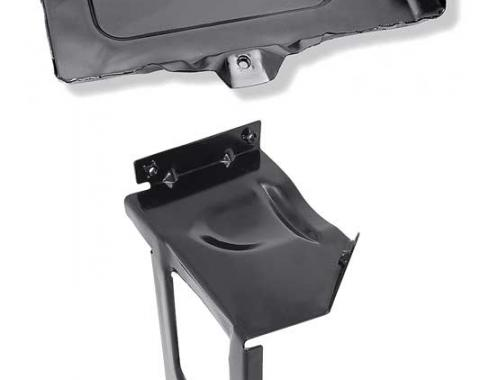 OER 1973-80 Chevy Pickup, Blazer, Suburban Truck, Auxiliary Battery Tray Assembly, EDP Coated *CX9286